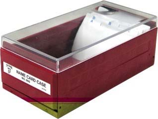 名片盒附放大鏡(990入)